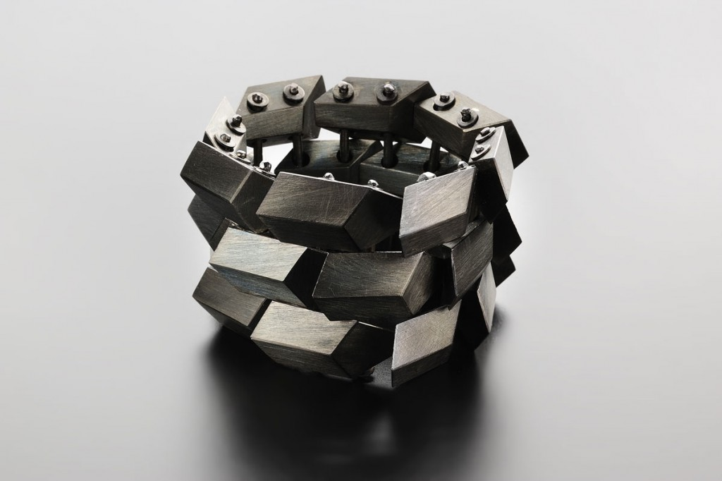 Serena Bracelet – 2011 – AG 925 Black Plated