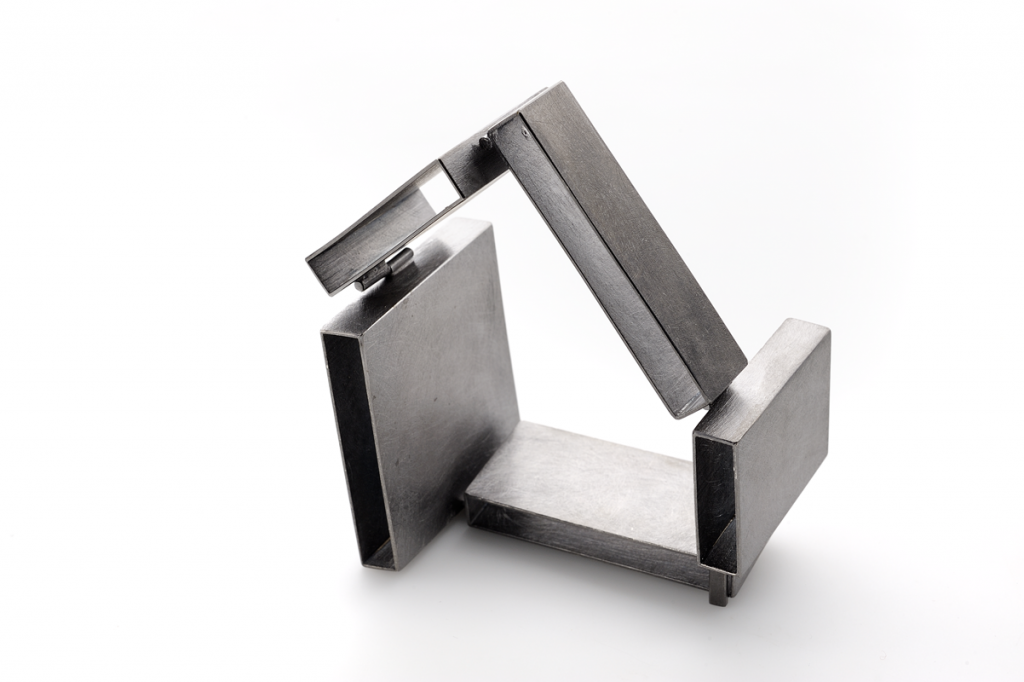 Sculpture Bracelet – 2010 – AG 925 Black Plated