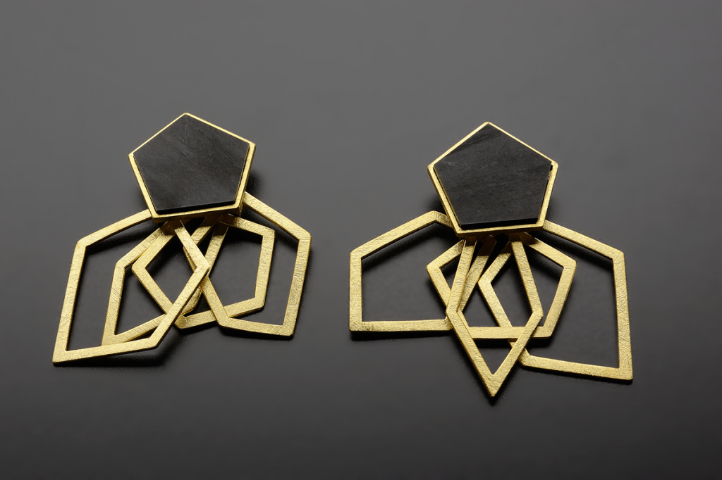 Earring Pollipo – 2011 – AG 925 Gold Plated