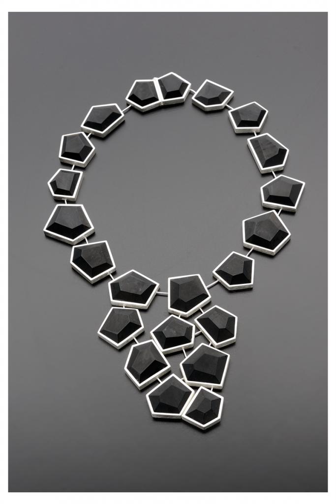 Necklace – 2010 – AG 925 Jet