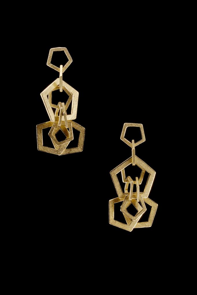 Earrings Mouvement – 2009 – AU 750