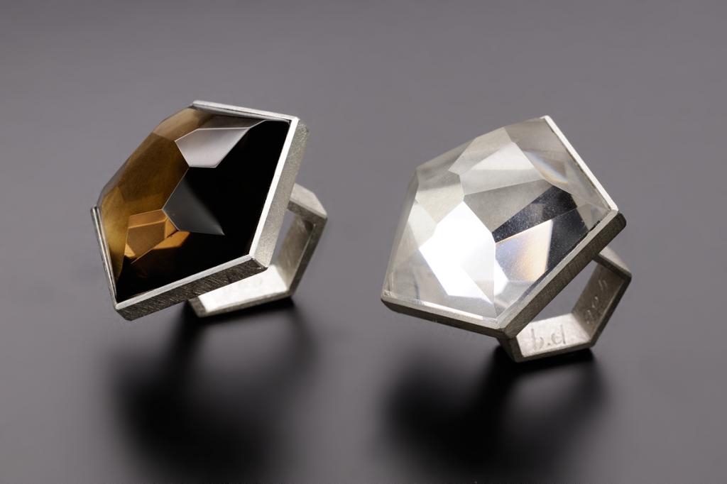Rings – 2004 – AG 925 Rock Crystal Smoke Crystal