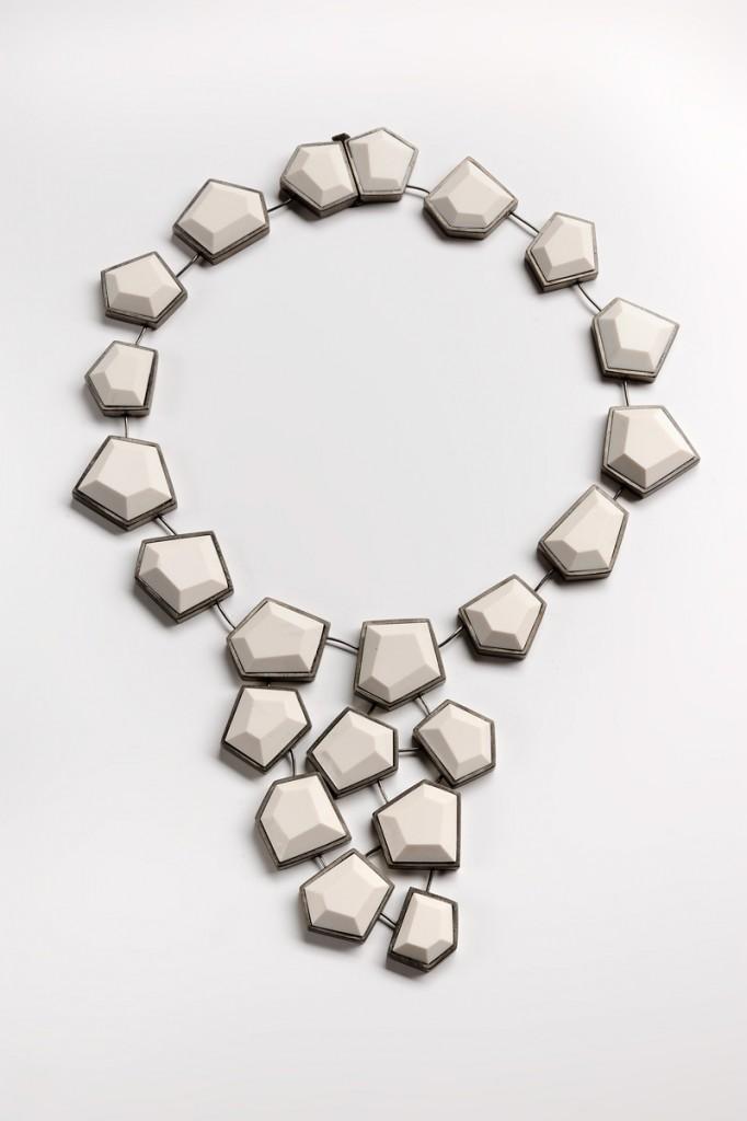 Necklace – 2011 – AG 925 Black Plated Polimer