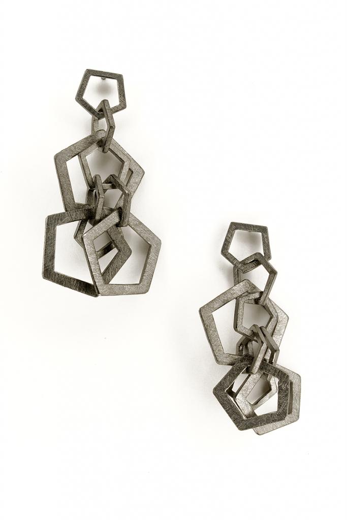 Earrings Mouvement – 2009 – AG 925