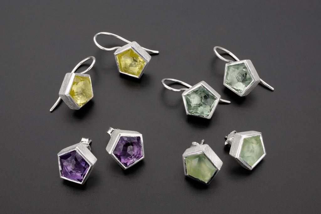 Luce Earrings – 2010 – AG 925 Stones