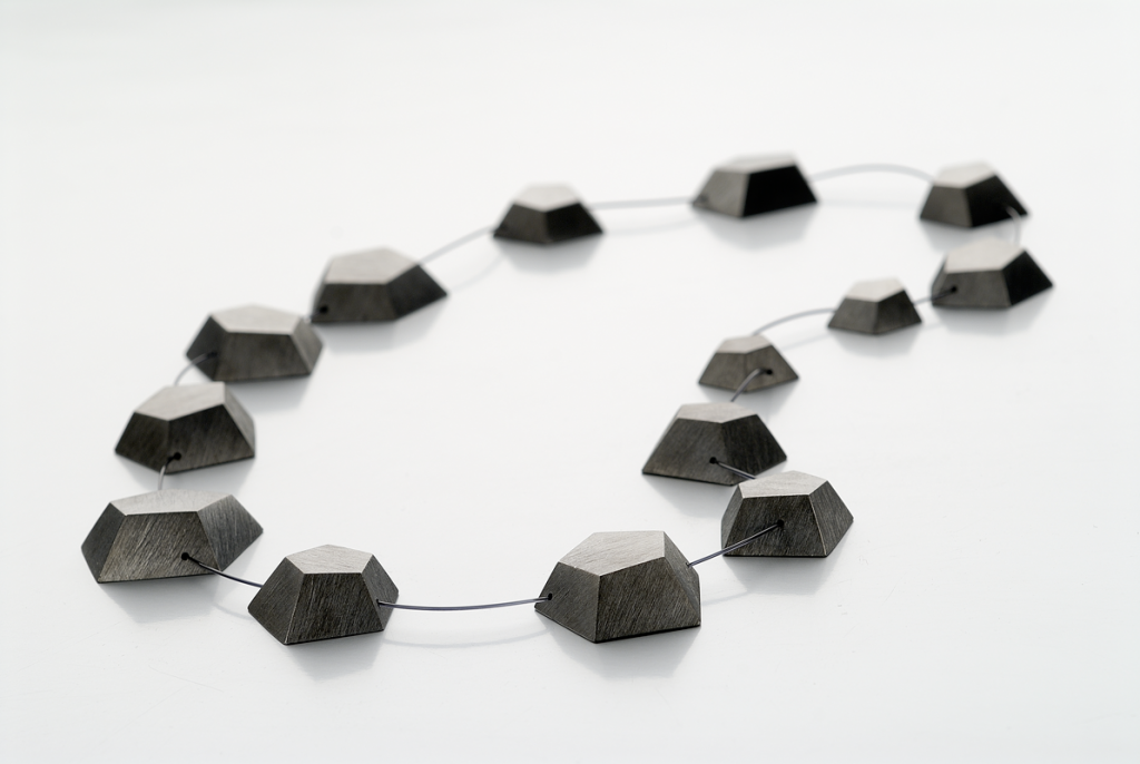 Necklace Crystal – 2009 – AG 925 Nylon