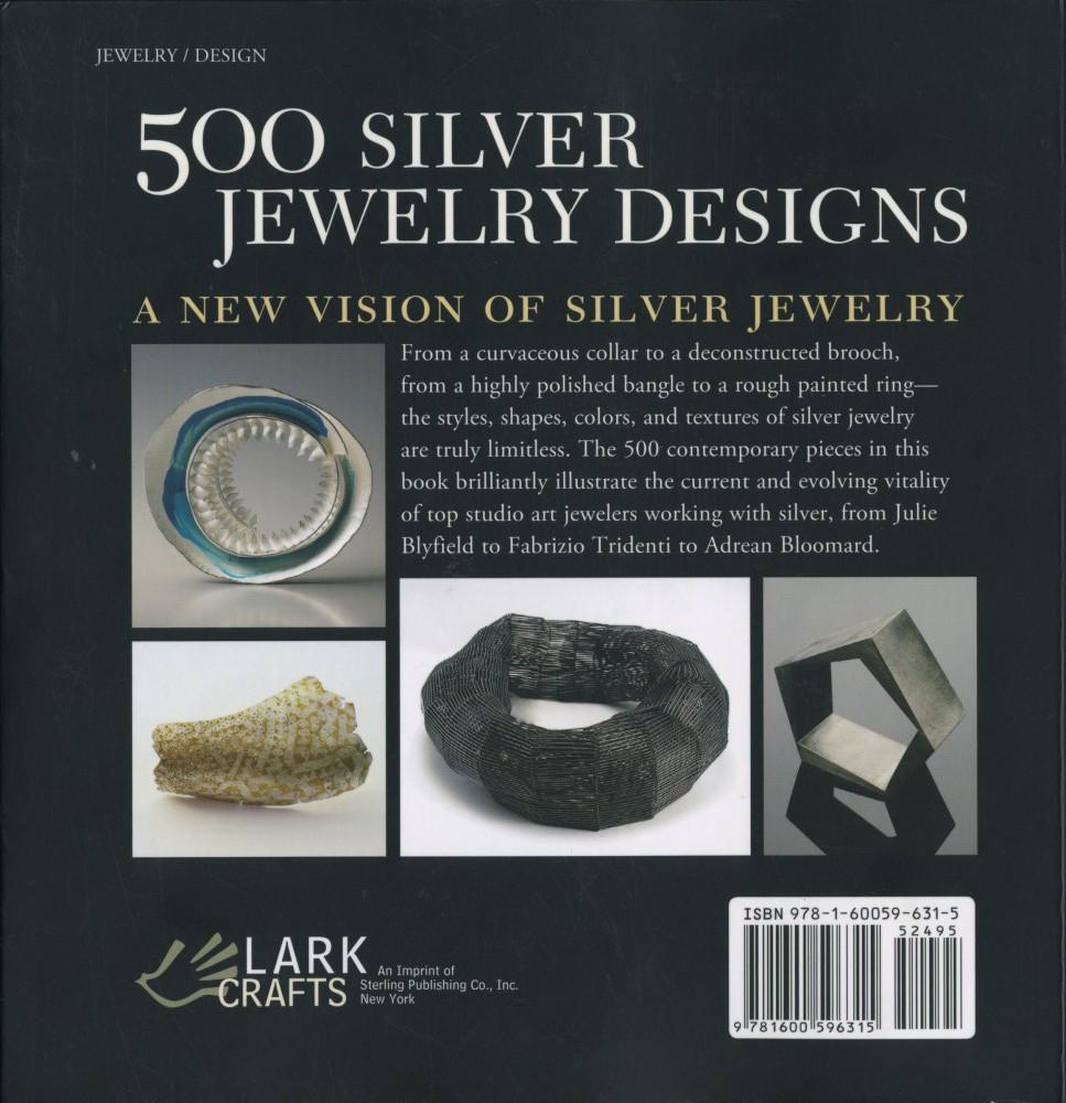 500 silver jewelery design back